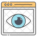 Web Eye Cyber Monitoring Webview Icon