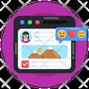 Customer Reviews Web Feedback Web Reviews Icon