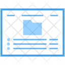 Web File Web Document File Folder Icon