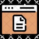 Interface Tabs Web Icon