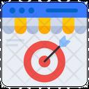 Web Target Web Goal Web Focus Icon