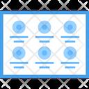 Web Grid Icon
