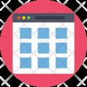 Webgrid Web Content Icon