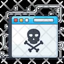 Web Hack Web Danger Bittorrent Icon