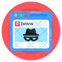Cybercrime Web Crime Web Hacking Icon