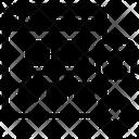 Web Hierarchy Data Flow Algorithm Icon