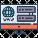 Web Hosting Web Hosting Icon