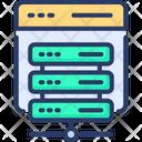 Web Hosting Hosting Server Icon