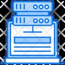 Web Hosting Web Server Web Datacenter Icon