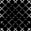 Network Database Hosting Icon