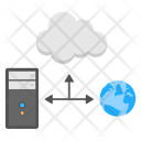 Web Hosting Cloud Icon