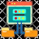 Web Hosting File Icon