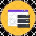 Web Dataserver Web Hosting Web Storage Icon
