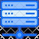 Web Hosting Database Server Icon