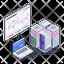 Data Hosting Web Hosting Database Hosting Icon