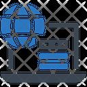 Web Hosting Server Network Icon