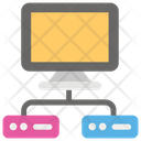 Web Hosting Domain Hosting Web Development Icon