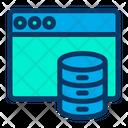 Web Hosting Database Icon