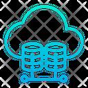 Cloud Host Hosting Icon