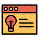 Web Idea Icon