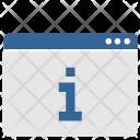 Info Data Ui Icon