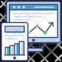 Web Infographic Data Infographic Web Development Icon