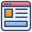 Web Interface Web Content Ui Design Icon