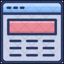 Web Interface Icon