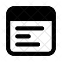 Web Interface Web Layout Web Design Icon
