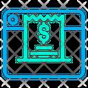 Web Website Invoice Icon