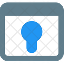 Web Key Web Lock Website Authorization Icon