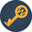 Web Key Search Icon