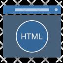Technology Window Html Icon