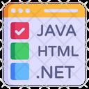 Web Languages Icon