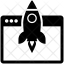 Web Launch Icon