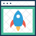 Web Launch Project Icon