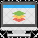 Web Layers Development Icon