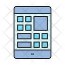 Web Layout Smartphone Mobile Icon