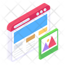 Web Layout Web Design Web Template Icon