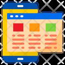 Web Layout Browser Layout Layout Icon