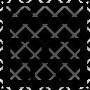 Layout Multiple Shapes Icon