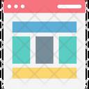 Web Structure Web Design Web Layout Icon
