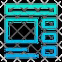 Layout Web Web Design Icon