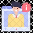 Web Lecture Icon