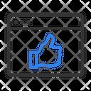 Web Like Icon