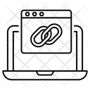 Web Link Chainlink Hyperlink Icon