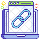 Web Link Hyperlink Web Connection Icon