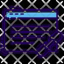 Web Link Building Icon