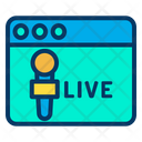 Web Live Icon