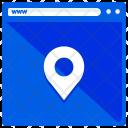 Location Webpage Window Icon